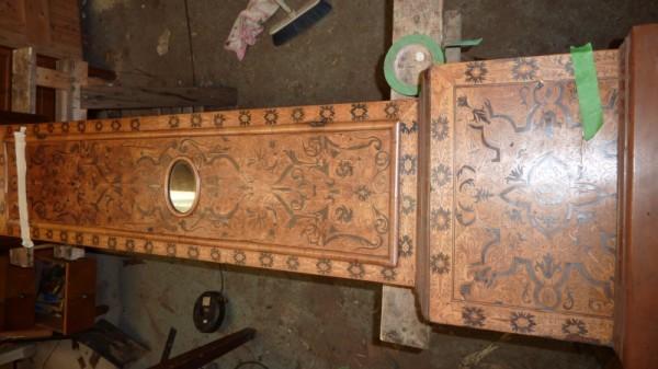 Dutch marquetry longcase clock