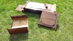 Restoration of Severely Damaged Long Case Clocks