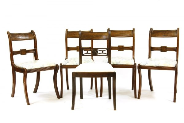 A Set of Antique Regency chairs now cheaper than IKEA