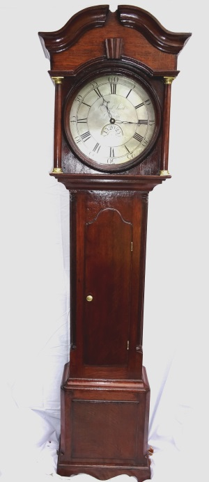Fine 30 hour long case clock