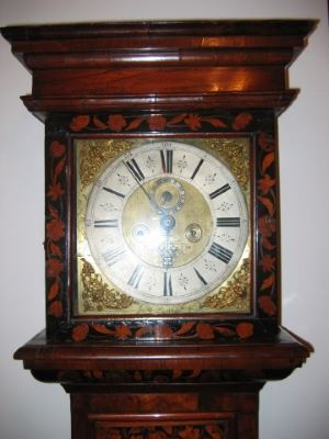 Dutch marquetry long case clock these clocks are exceptional