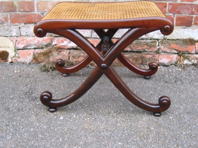 Regency stool restored