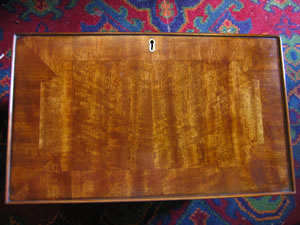 Antique Secretaire drawer after repair