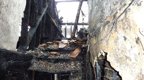 fire damaged property valuation undertaken by antiques-valuations.co.uk