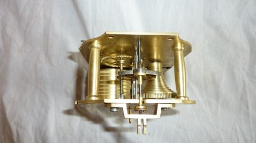 fusee movement restored top view