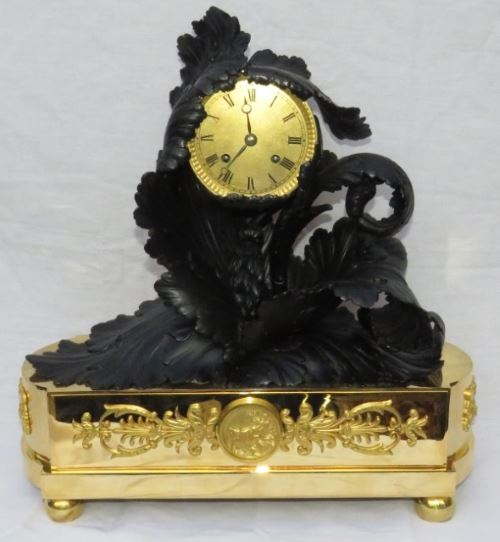 A very fine early French Mantel clock by Gay Vicarino and company.