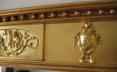 Example of our Gilding restoration work