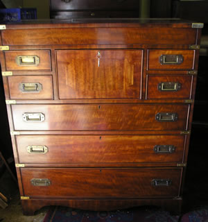 Antique Military Chest